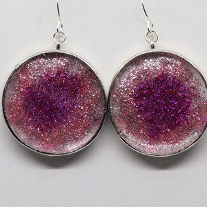 Pink Explosion Earrings